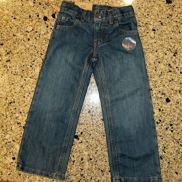 Boys' Clothing (newborn-5t) Baby & Toddler Clothing Toddler Boy Jeans Size 2t Straight
